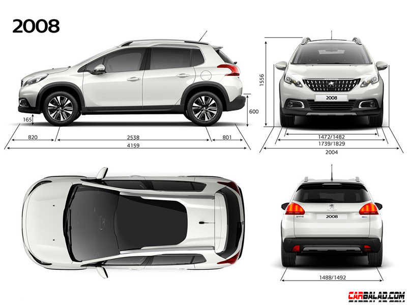 Peugeot_2008_Carbalad_Dimensions